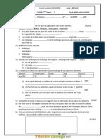 Devoir de Contrôle N°1 Collège pilote - Physique - 7ème (2017-2018) Mr AFFI FETHI
