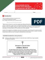 TALLER DBA 1 Reconocimiento de los elementos de la literatura de la generación del 98 y del 27.pdf