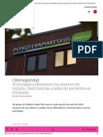 Si no pagas publicamos tus sesiones de terapia_ ciberchantaje a miles de pacientes en Finlandia _ Tendencias _ EL PAÍS Retina
