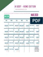 Lean Body Home Workout Calendar - MAR 2020.pdf