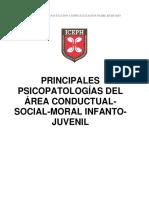 4. Principales Psicopatologías Del Área Conductual-Social-Moral Infanto-Juvenil LEIDO