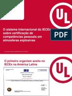 O sistema internacional IECEx certificação competências pessoais atmosferas explosivas - Eduardo Galera