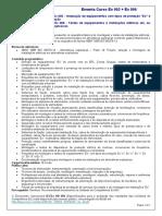 Ementa Curso Ex 003 + Ex 006 - Montagem e testes instalações Ex.docx