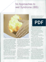 Homeopathic Approaches to Irritable Bowel Syndrome (IBS).