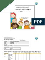 evaluacion final nt1 2020 priorizacion de objetivos