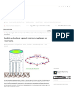Análisis y diseño de vigas circulares curvas en un depósito - Structville