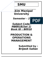 MB0028-Production-and-Operations-Management