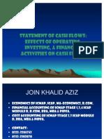 CASH-FLOWS