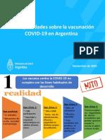 Mitos y Verdades COVID Vacunacion