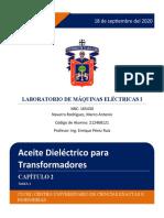 Aceite Dieléctrico para Transformadores