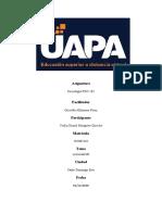 Tarea 3 de sociologia UAPA_