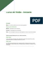 Apostila Violão Iniciante RodrigoRS.doc