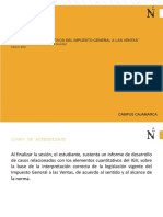 ELEMENTOS CUANTITATIVOS DEL IGV Casuistica para los elementos cuantitativos del IGV 2(1)
