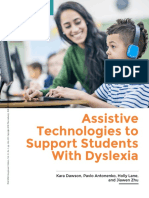 module 4 - article - assistive technologies to support students