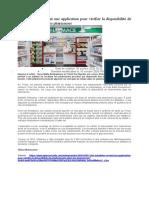 Des Tchadiens créent une application pour vérifier la disponibilité de médicaments dans les pharmacies