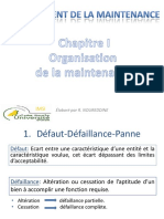 CHIOrganisation de La MaintenanceL3MI ELM