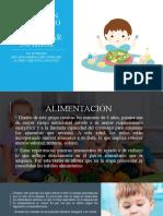 Nutrición en el ciclo de vida preescolar