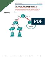 8.1.4.4 Lab - Troubleshooting DHCPv4 - ILM  juan