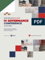 GOVERNANCE 2020 Conferencias y Seminarios