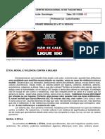 ética e moral e violência contra a mulher