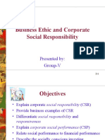 Business Ethic and Socail Responsibility