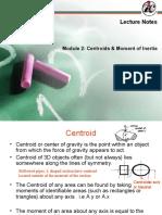 Centroids & Moment of Inertia