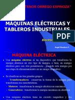 MÁQUINAS ELÉCTRICAS Y TABLEROS INDUSTRIALES