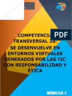 MODULO DE LA COMPETENCIA TRANSVERSAL 28