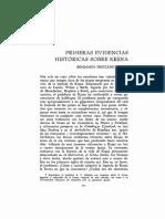 z - Primeras evidencias historicas sobre Krishna