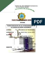 TRANSFERENCIA DE CALOR -INTERCAMBIADOR DE 25 PLACAS
