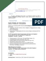 New Mod Resume 2003
