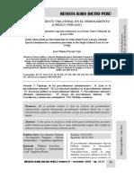 El Procedimiento Administrativo Trilateral en El Perú - Autor José María Pacori Cari