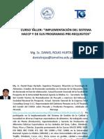 PRESENTACION,  BUENAS PRACTICAS DE MANUFACTURA Y PROGRAMAS PRE-REQUISITOS.pptx