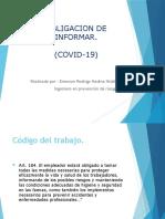 ODI COVID19 Capacitacion