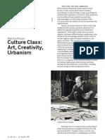 Martha Rosler - Creative Class