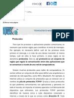 1.3 Protocolos  1.3 Protocolos  Material del curso FDLR18101X  MéxicoX