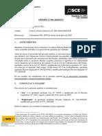 OPINION OSCE 081-2020 -  Costos y Gastos Directiva N° 005-2020