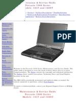 HP / Compaq 1800t-1825