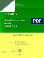 Comisión 3 Diapositivas Unidad IV  Europa puntos A y B