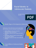 racial identity in adolescents students  1