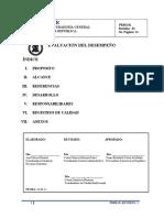 Procedimiento EVALUAC DESEMPEÑO Revisión 2015