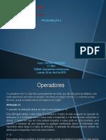 Operadores e Atribuições