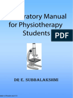 Preparatory Manual for Physiotherapy Students