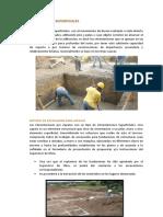 Métodos de excavaciones