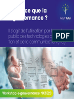 Atelier e-gouvernance nout' futur au nxse