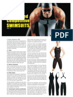 Engineered Competitive Swimsuits Part 3