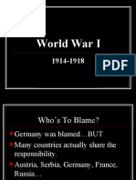 World War I PowerPoint.ppt