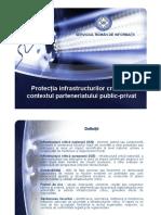 Protectia IC in contextul parteneriatului public-privat