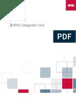 SPSS Categories 14.0