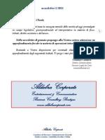 Aldabra Corporate Newsletter 1 2011